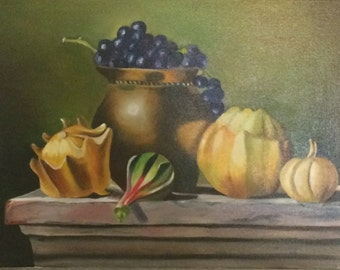 Hand painted Still life painting oil