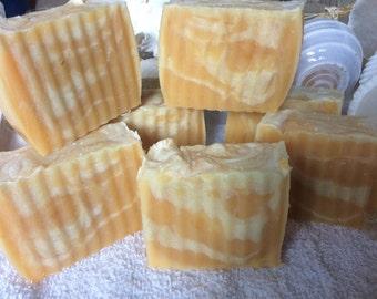 Cedarwood and Citrus Soap