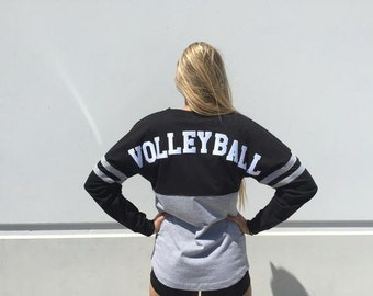 Spirit Volleyball Cotton Pom Pom Jersey