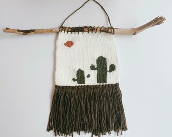 weaving tapestry wall hanging