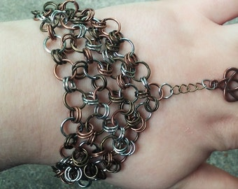 Celtic/Chainmaille Slave Bracelet