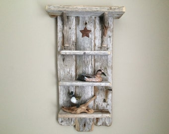 Driftwood Shelf With Star