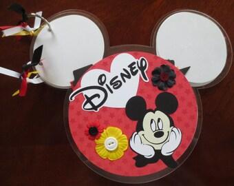 Disney - Mickey Ears - Shaped Acrylic Album
