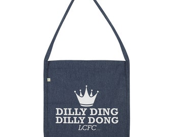 Dilly Ding Dilly Dong Crown Tote Bag