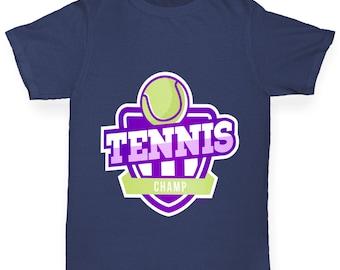 Girl's Tennis Champ T-Shirt