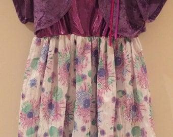 Bling Dress with Matching Bolero 6 years