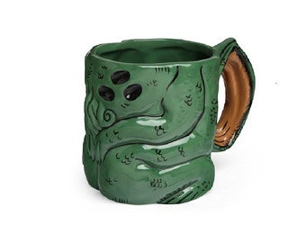 Mug Cthulhu Awakens 3d Ceramic Mug 16 oz