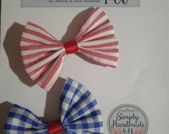 Two large hairbows.