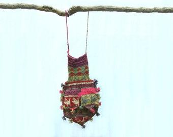 Vintage Knit Purse
