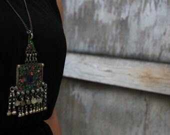 Vintage Afghani Jewellery Jamila pendent locket