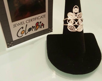 Filigree Silver ring from monpox Colombia  Size 7 !!! 30% DISCOUNT ALL ITEMS!!
