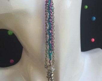 Jellyfish Chain Earrings