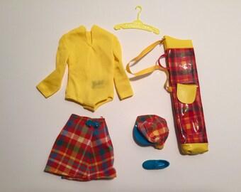 Mattel Golfing Greats #3413 Vintage 1971 Barbie Golf Set