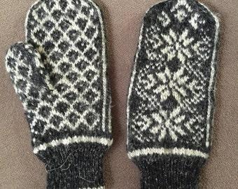 Mittens pattern Norwegian - Norwegian mittens