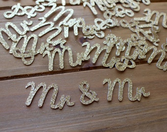 Mr & Mr Wedding Confetti