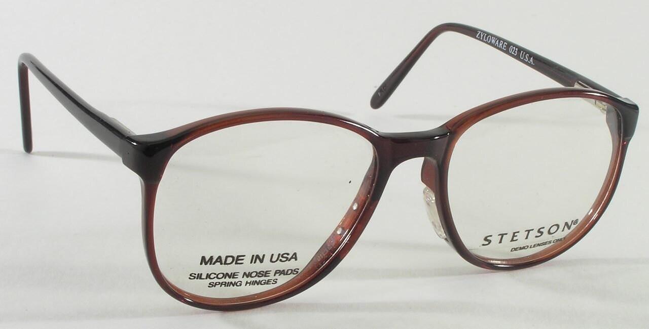 Vintage Eyeglass Frames New Old Stock : Vintage eyeglasses P3 Stetson 92 New old stock
