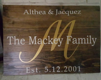 Wooden Gift Plaques
