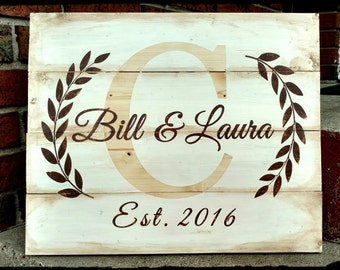 Custom Wedding/Shower gift Sign