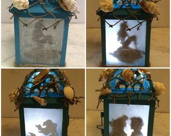 Disney little mermaid custom lantern night light