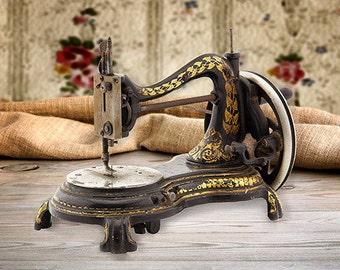Machine sewing P, J. Walter & Company 1880