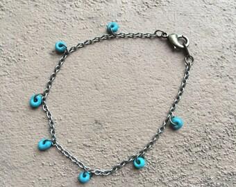 Blue Gravity Bracelet