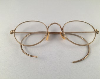 Vintage 1/10 12K gold filled eyewear glasses