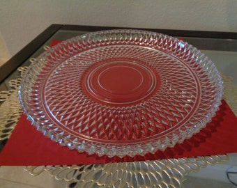 Detailed Glass Serving Tray