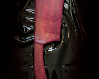 "BDSM paddle - ""The Cleaver"" for consensual adult play"