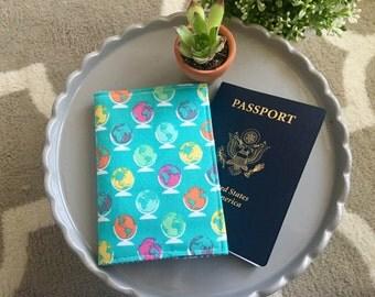 Passport Cover-Noteworthy Fabric
