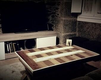 "COFFEE TABLE ""Forest house "". Mesa de centro."