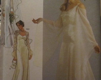 Pattern Simplicity 4777 size wedding dress