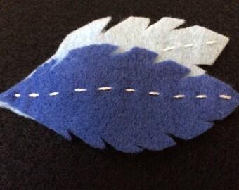 Feathers Hair Clip