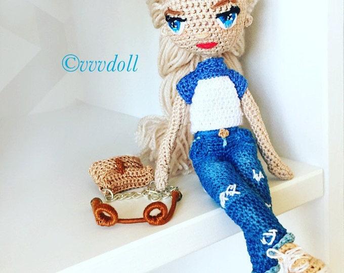 Amigurumi Crochet doll-amigurumi doll-crochet-handmade