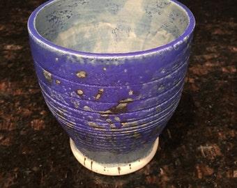 Blue Pompei Ash Bowl