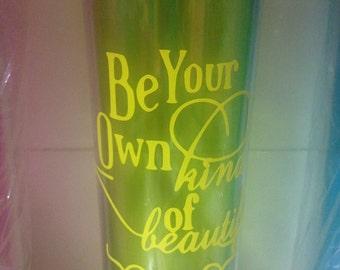 Personalized water bottle 16oz
