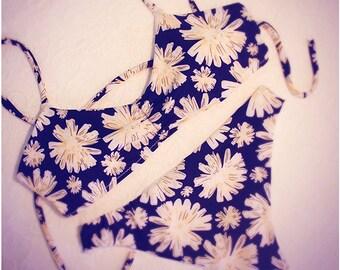 white flowers bikini