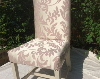 Upholstered dining chair / bedroom / dressing room