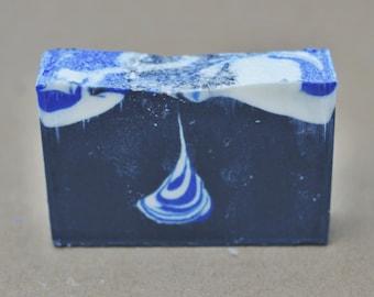 Eucalyptus Tear Drop Soap, Cold Process Soap, Shea Butter, Eucalyptus Soap, Charcoal Soap, Detox Soap, Vegan Soap, All Natural Soap