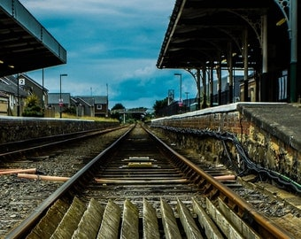Train Tracks Photography