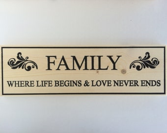 Download Family Where Life Begins And Love Never Ends SVG