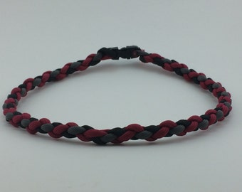 4 Strand Braid | Paracord Necklace