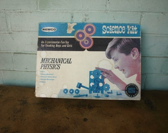 Vintage Mechanical Physics Science Kit by Remco style 416