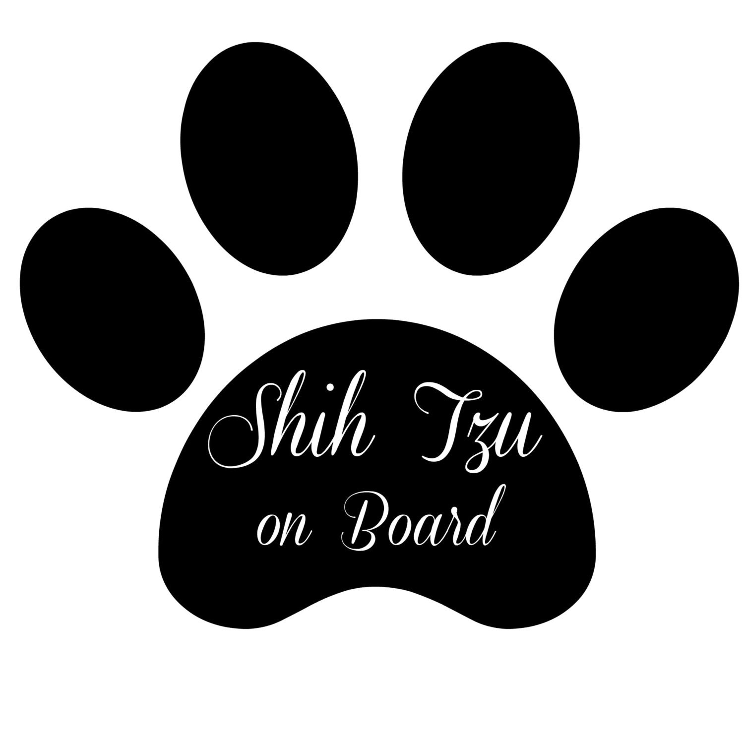 shih tzu svg shih tzu on board svg file for cricut silhouette by buffyvinyl 7601