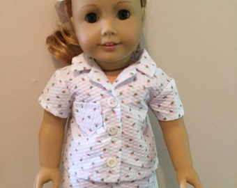Shortie pajamas for American Girl Dolls