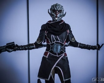 Turian mask, female turian, nyreen mask, mass effect cosplay