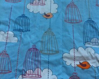fabric cage birds