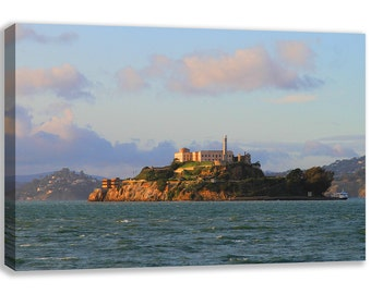 ALCATRAZ ISLAND PRISON California Usa Canvas Wall Art
