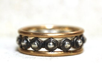 Roman Ring in Gold and Silver