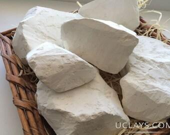 KAMENKA edible Chalk chunks natural lump for eating (food), Free Samples  (Russian chalk)