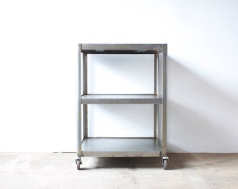 Industrial Metal Rolling Cart